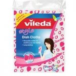 Vileda Style Dish Cloth Pack of 2